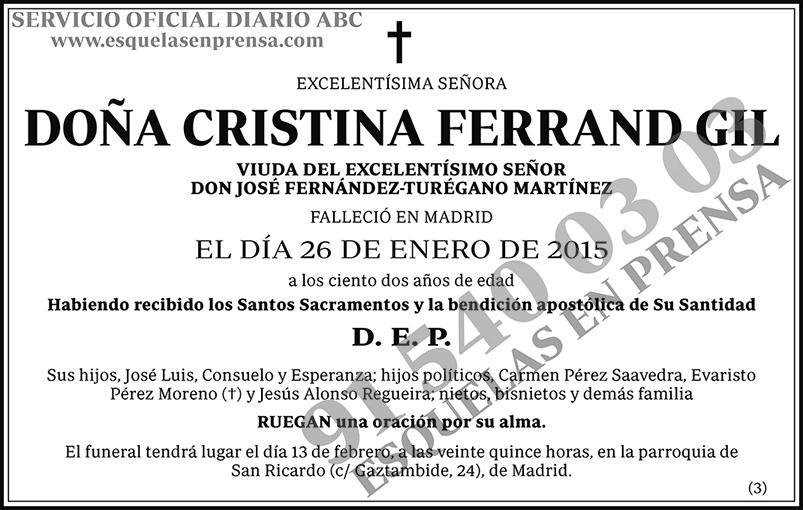 Cristina Ferrand Gil